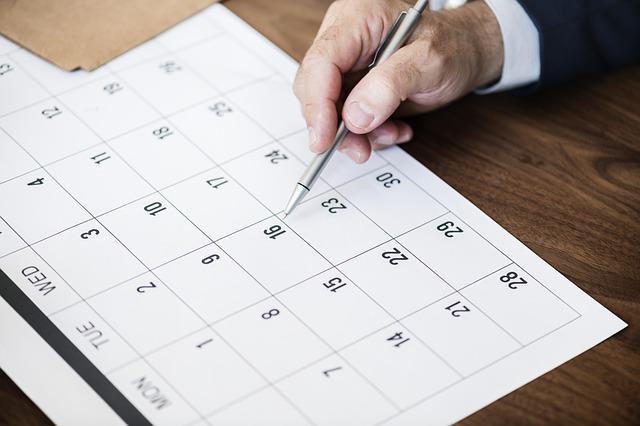 scadenze di aprile e maggio