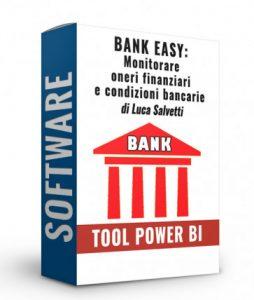 tool bank easy per il monitoraggio delle condizioni bancarie
