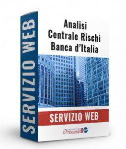 servizio di analisi della centrale rischi della banca d italia