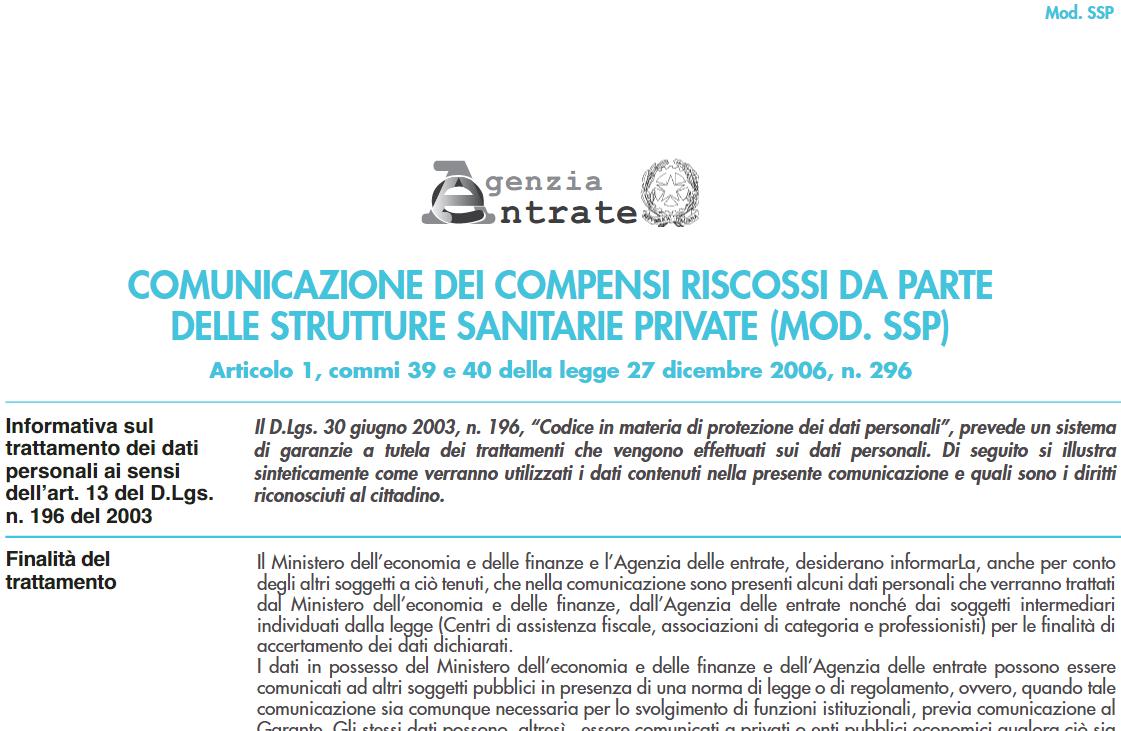 Comunicazione strutture sanitarie private: scadenza al 30 giugno 2020