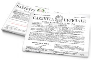decreto in gazzetta ufficiale