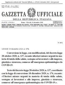 legge 176
