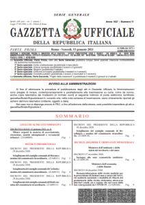decreto legge 3 2021
