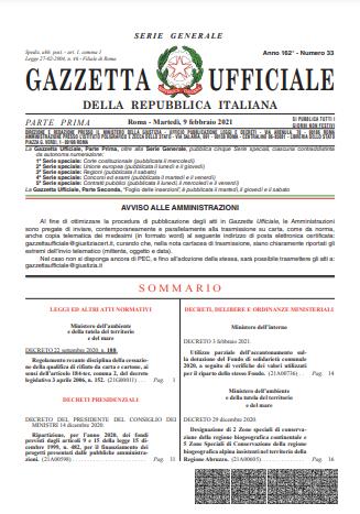 decreto 2 febbraio 2021 isa