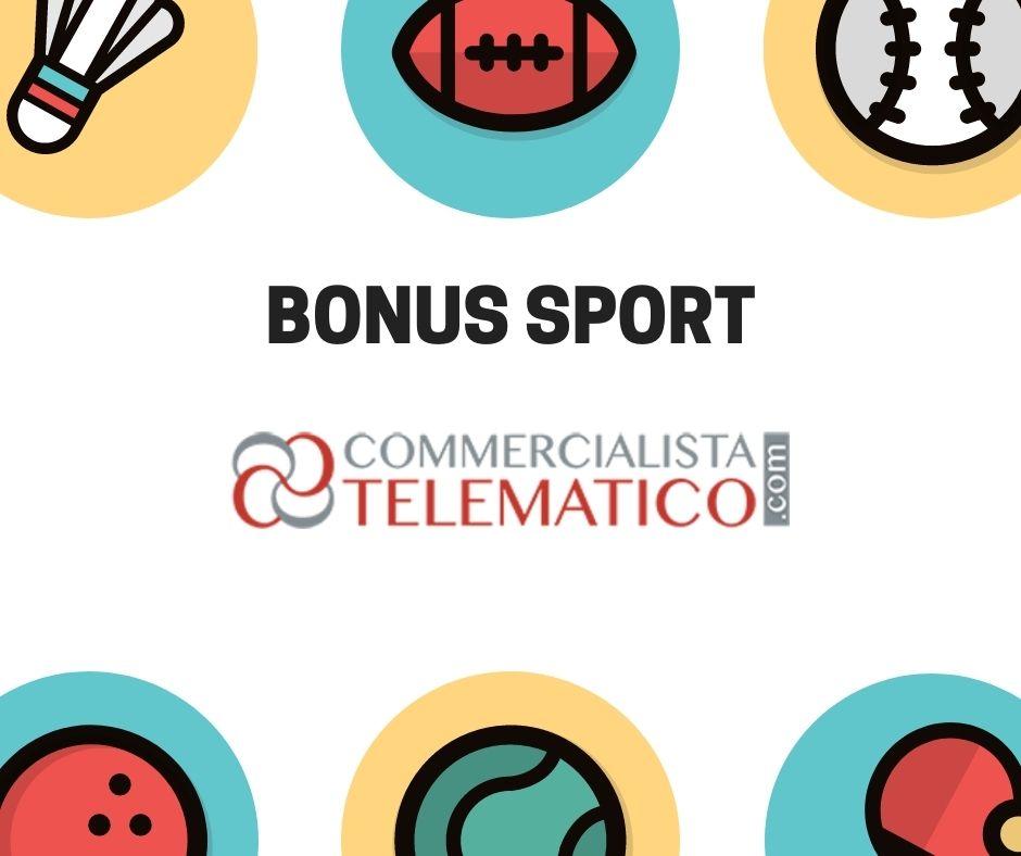 bonus sponsorizzazioni sportive