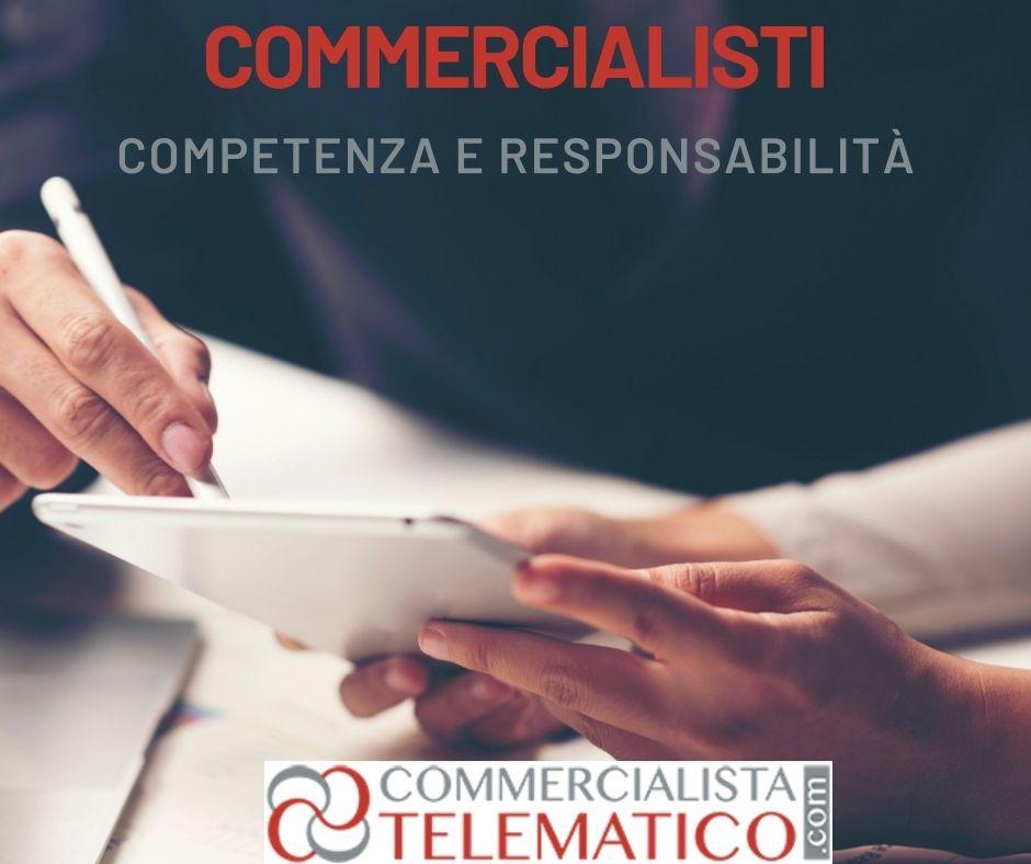 competenza responsabilità commercialisti