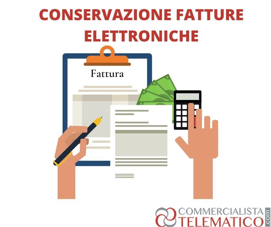 decreto sostegni conservazione fatture elettroniche