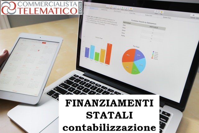 contabilizzazione finanziamenti garantiti Stato