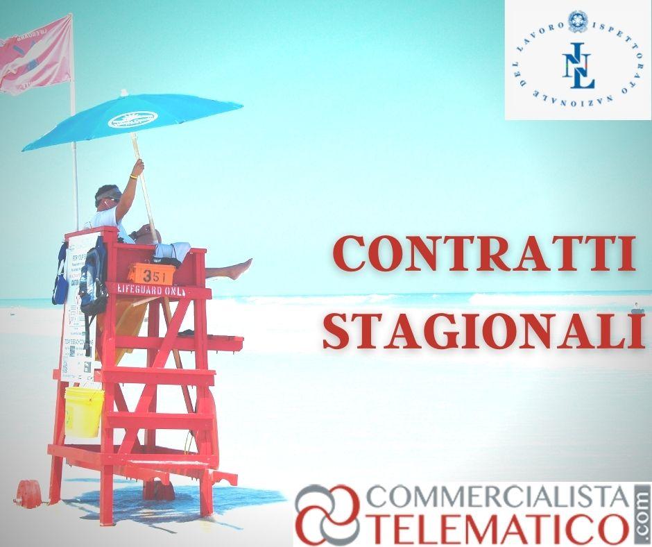 contratti stagionali contrattazione collettiva