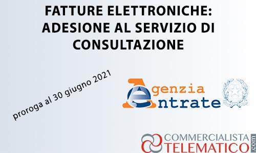 fatture elettroniche consultazione conservazione