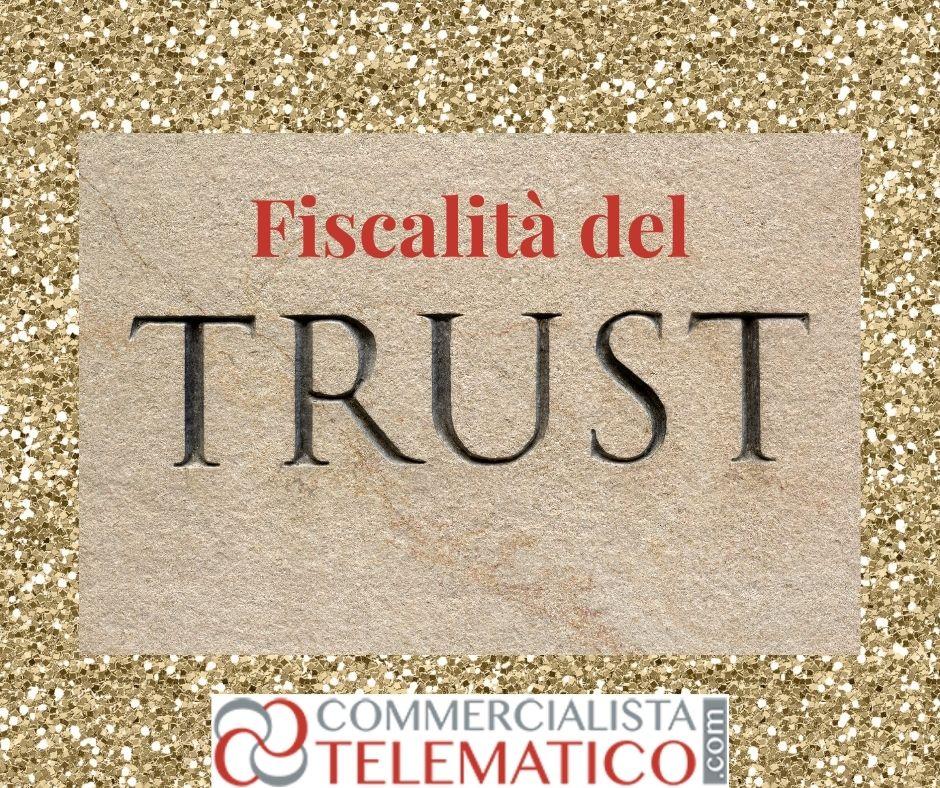 fiscalità del trust
