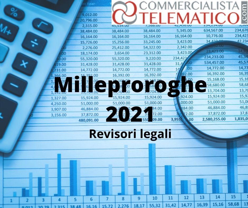 milleproroghe formazione revisori legali