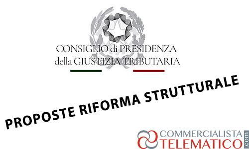 giustizia tributaria riforma strutturale