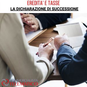 DICHIARAZIONE DI SUCCESSIONE ereditaria