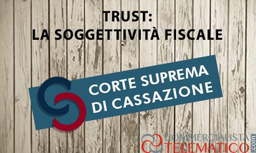 soggettività fiscale trust