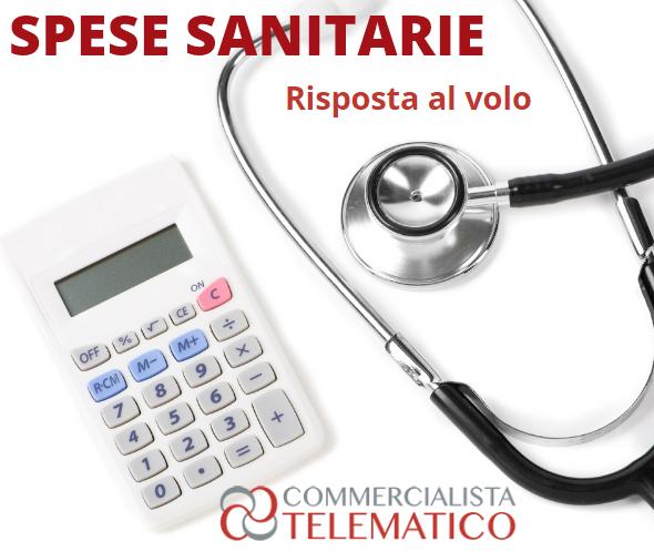 tracciabilità spese sanitarie