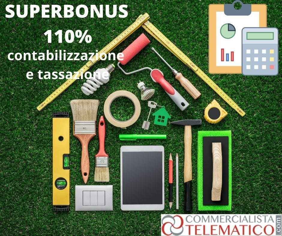 superbonus contabilizzazione
