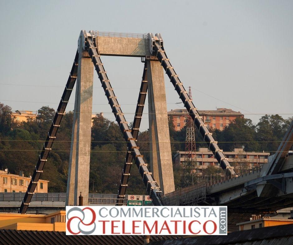 contributi maggiori spese autotrasportatori crollo ponte morandi