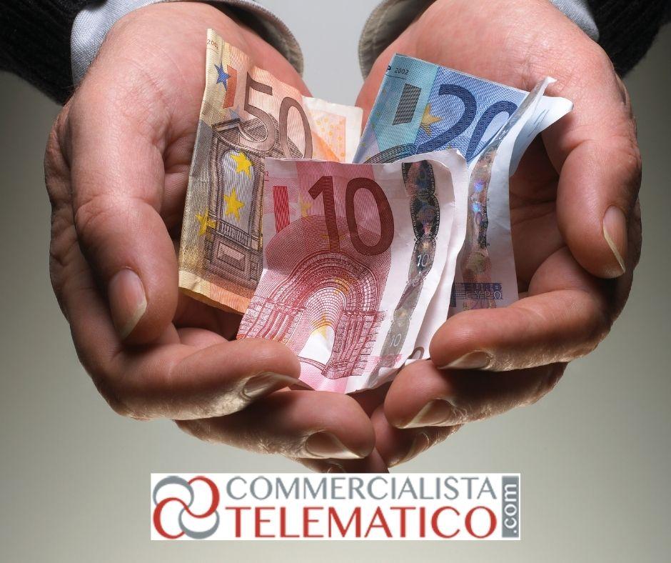 incentivi fiscali commercio dichiarazione decadenza