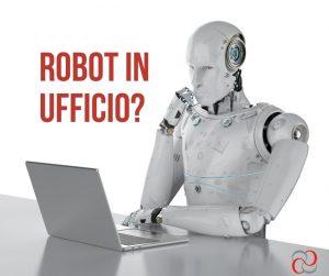 robot in ufficio