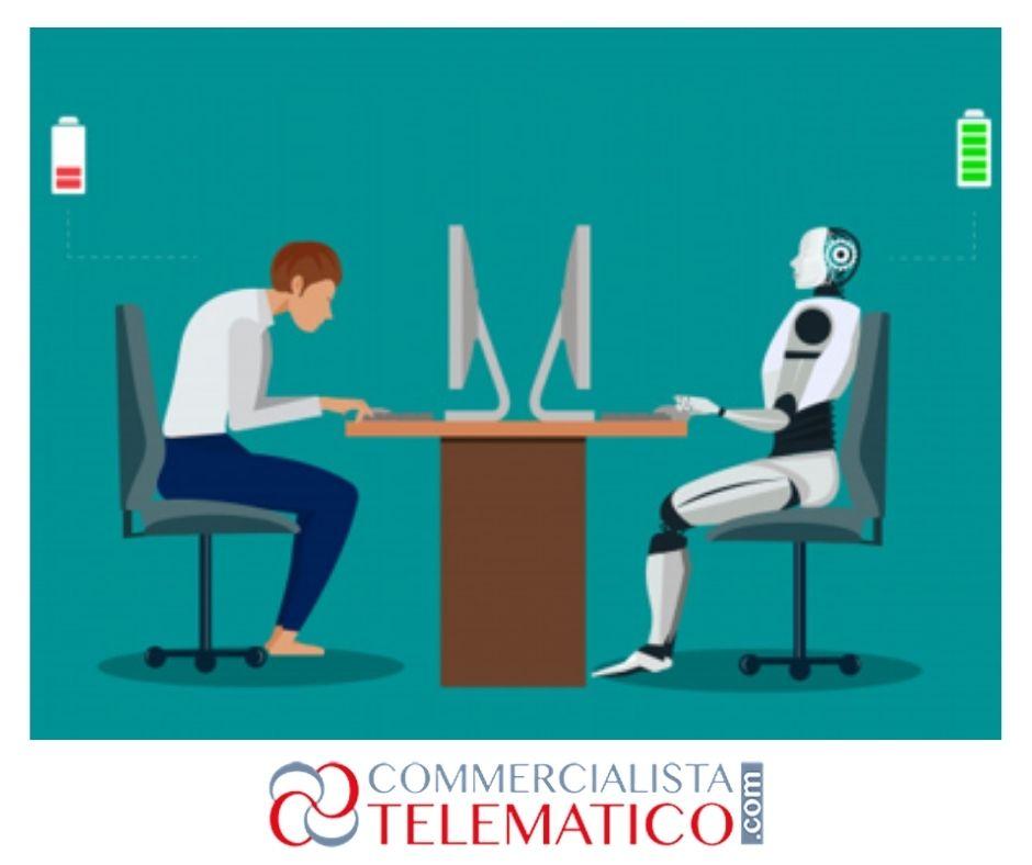 robot negli uffici