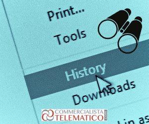 controllo cronologia internet dipendente