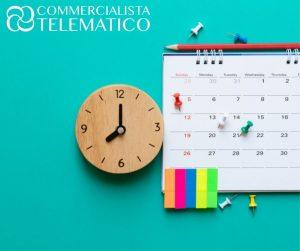 proroga versamenti nuovo calendario