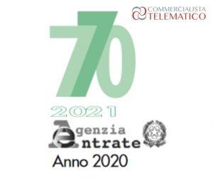 modello 770 2021 novità