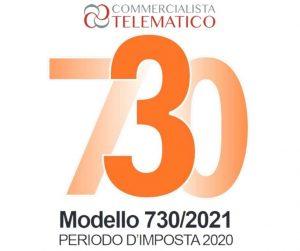 scadenza modello 730 2021 integrativo