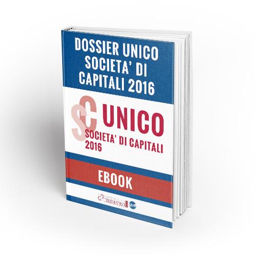 Dossier unico società di capitali 2016
