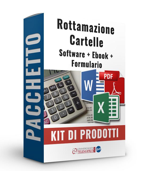 Pacchetto Rottamazione Cartelle: Software, Ebook e Formulario